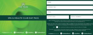 spa health pass
