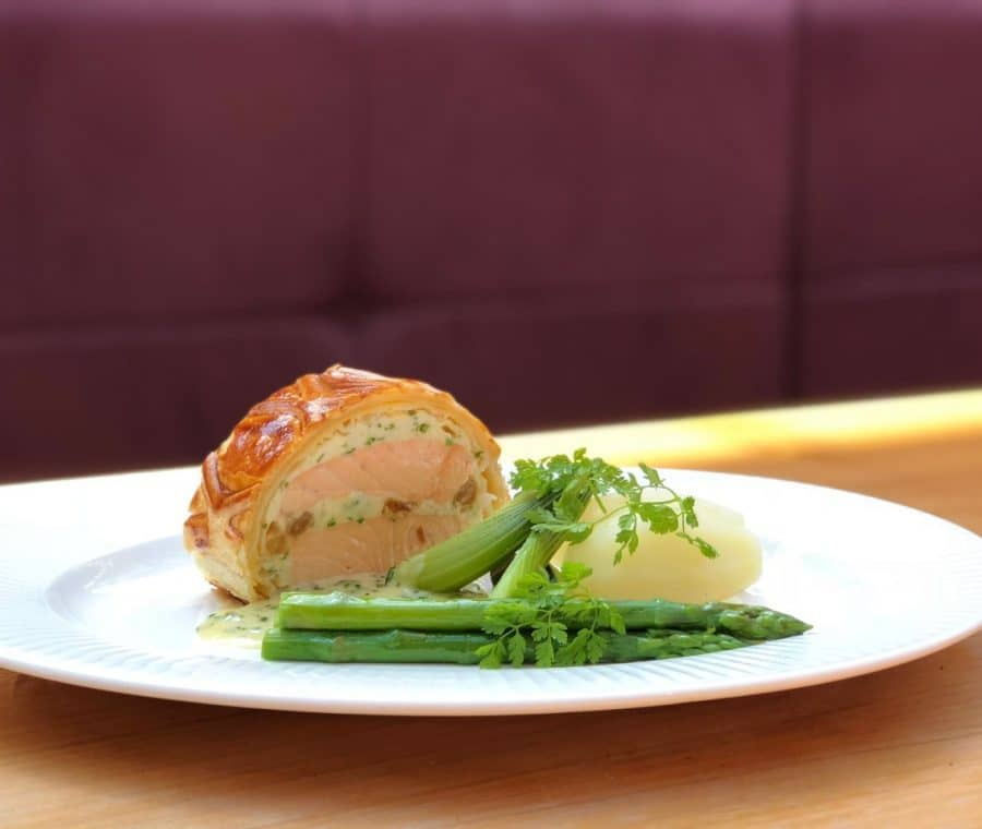 Salmon En Croute Recipe The Perfect Summer Dish The Mere